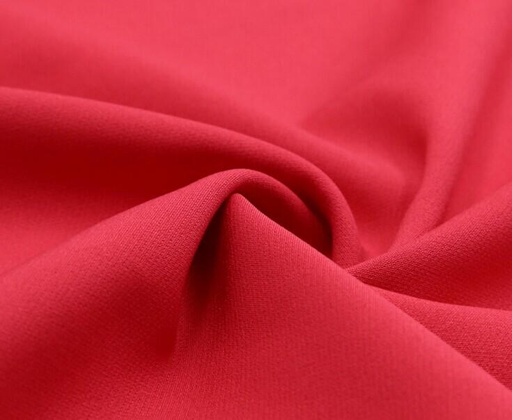 Polyester 4 way stretch fabric