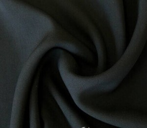 100 polyester ITY wool chiffon for abaya fabric