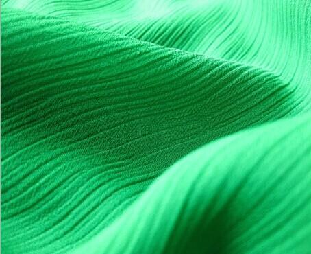 tessuto chiffon piega