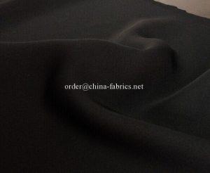 Polyester Abaya Nida formalen schwarzen Stoff