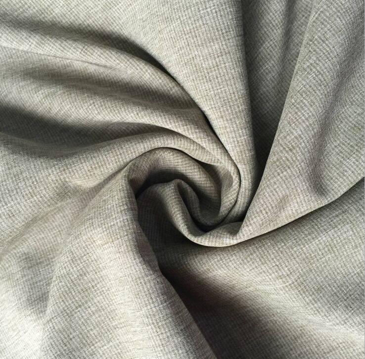 Polyester two tone 4 way stretch fabric